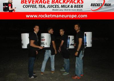 backpack beer dispenser